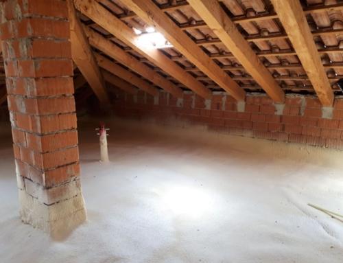 Isolamento sottotetto solaio soffitta pavimento