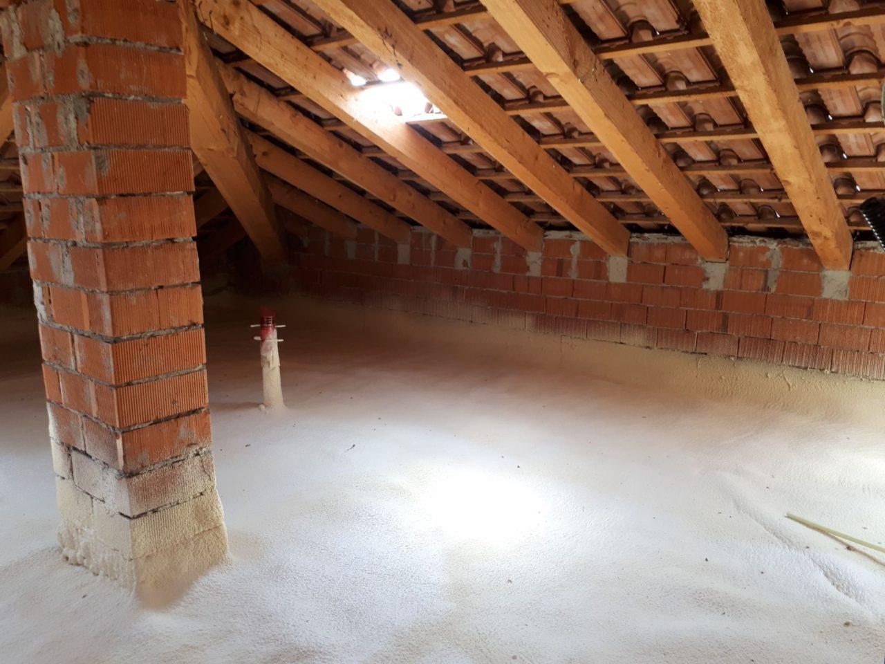 Isolamento sottotetto solaio soffitta pavimento - Isolamento tetto interno ...