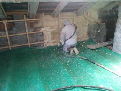 Coibentazione pavimenti e pareti