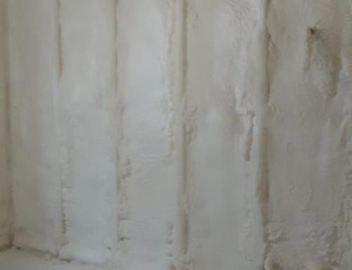 Poliuretano espanso a spruzzo – Cappotto interno a spruzzo