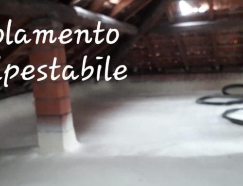 Poliuretano espanso a spruzzo – Isolamento sottotetto, solaio, soffitta